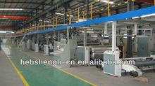 High speed cardboard production line of Shengli carton box company