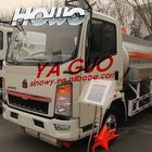 Howo 4x2 3900L/1000 gallos Refuel tank truck