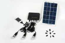 home use led solar power system for electricity generator