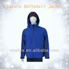 Men's heat sealed pocket softshell jacket