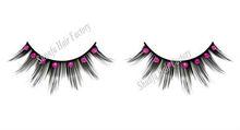 Shunfa hair factory color fashion new design luxury looking diamond false eyelash