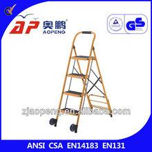hospital step stool with 2 wheel AP-1164L