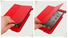 Leather book case for ipad mini