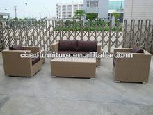 environmental protection rattan outdoor patio sofa