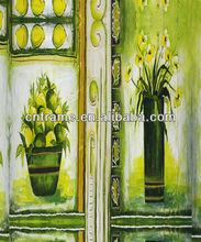 stretched canvas fruit flower painting on convans KXPC02750100