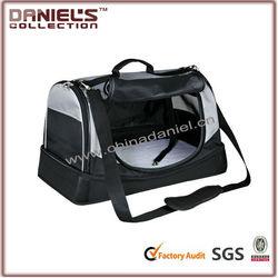 Luxury Black travel dog carrier bag/dog house