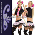 cosplay ml5059 jugar juego de cosecha de split linda sexy uniformes&nbsp;escolares
