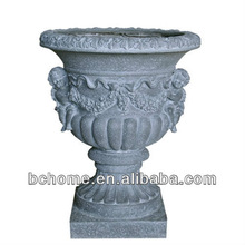 Fiberglass Planters with larger size for outdoor