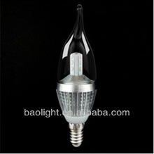 220V 5W Dimmed LED Bulb Lights E27 with Small Screw Cap