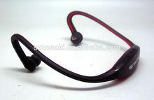 MP3 format music in Mini SD card headphone