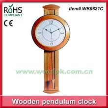 29.5x76cm Woodpecker design wooden school clock antique wooden pendulum wall clock
