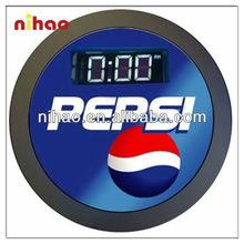LED DIGITAL CLOCK;MATEL FRAME CLOCK