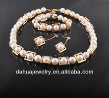 2013 Fashion Pearl jewellery insert CZ stones