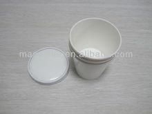 Custom Logo Disposable Paper Soup Bowls With Paper Flat Lids