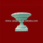 China Sandstone Decorative Flower Pots Vase Cup Shape Plant Pots