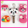 Embossed engraved colorful Irregular shape silicone rubber personalized key cover
