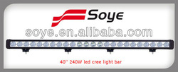 2013 New model 40inch 240w CREE LED offroad light bar,10w cree chips waterproof IP68,auto LED spot/flood headllight