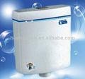 Cf804 blanc économie d'eau de toilette en plastique réservoir