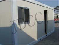 Steel structure prefabricated living shipping container