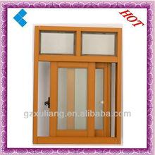 2015 popular style cheap aluminum sliding window