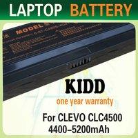 Factory Supply New Models Laptop Batteries C4500BAT-6 For Clevo C4500 C4500Q Series