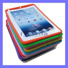 Pure Color Crystal Rubber Silicone for iPad mini Soft Case
