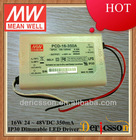MEAN WELL AC dimmable 350mA led driver ul PCD-16-350A