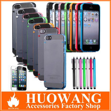Luminous style ultra-thin glossy hard case for iphone 5