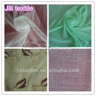 spun polyester high twist voile greige fabric for scarf