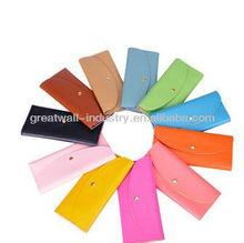 2012 new candy colors purse female long wallet card package purse women wallet
