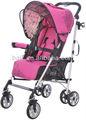 cochecito de bebé de color rosado de 2014