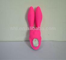 silicone rabbit vibrator