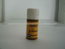 Custom PVC Medicine Bottle Shape USB Flash Memory For Promotion