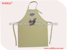 US Famous M&amp;M Chocolate Promotion TC6535 twill apron for DENMARK