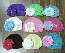 Beautiful flower kufi hat