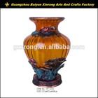 Antique vase ceramic flower art ceramic vase for home decoration