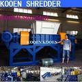 bois de caoutchouc en aluminium metel kooen automatique des déchets plastiques film bouteille récipient de broyage machines déchiqueteuse à vendre