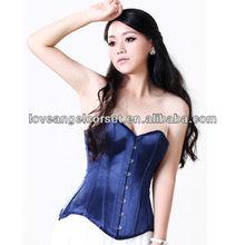 Authentic full steel boned overbust waist cinching shaper corset