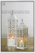ferforje metal fener düğün dekoratif fener