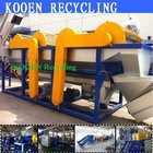 New condition ldpe film plastic crushing washing recycling machine