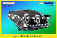 Car body parts---toyota vios 08 modified LED headlight/headlamp