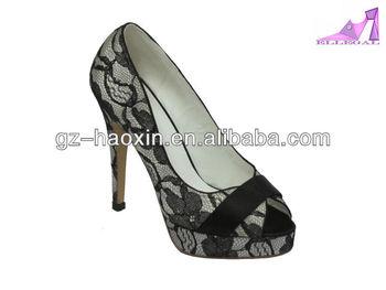 woman high heel platform shoes