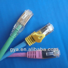 high speed utp/ftp fluke test C6 patch cable with rj45