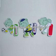 Advertising thermometer fridge magnet/Promotional magnetic fridge thermometer