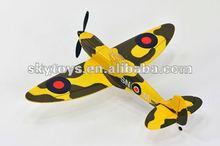 !2.4Ghz 4ch rc airplane spitfire 4ch rc model plane