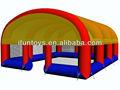 Mega inflável paintball campo para venda