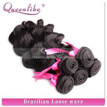 AAAAAA beautiful human hair body wave loose wave carry various hairstyle