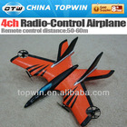 4ch radio-control airplane model airplane retractable landing gear