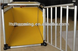 Alu transport box dog crate