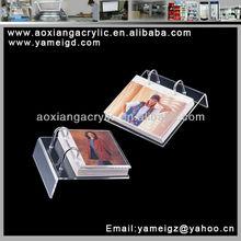 2015 nice style Transparent beautiful acrylic photo frame for USA